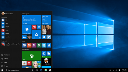 Windows 10 first look